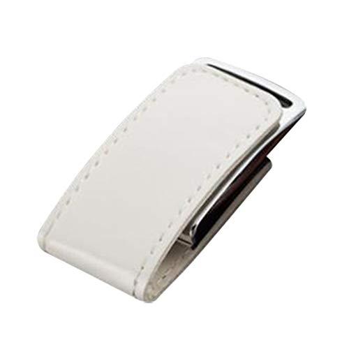Skyeye Funda de Piel Blanca Estilo U Disco USB Flash Drive Pen...
