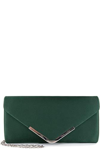 Tamaris Clutch Amalia 30454 Damen Handtaschen Uni green 930 One Size