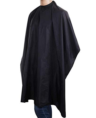 Convenience Guy Salon Essentials - Professional Hair Cutting Cape With Snap Closure - Waterproof Nylon Haircut, Hair Coloring & Styling Accessory - Comfortable Hairdresser & Stylist Apron 49' x 59'