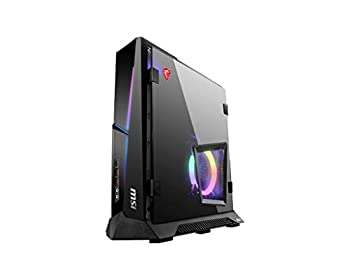 CUK MEG Trident X by MSI Gaming Desktop PC  Intel Core i9 K-Series 64GB DDR4 RAM 1TB NVMe SSD + 2TB HDD NVIDIA GeForce RTX 3070 8GB 650W PSU Windows 10 Home  Gamer Computer