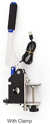 Freno de mano USB para PC Windows Universal para Sim Racing Games G27 G25 G29 T500 T300 FANATECOSW LFS Dirt Rally - Plug and Play, azul