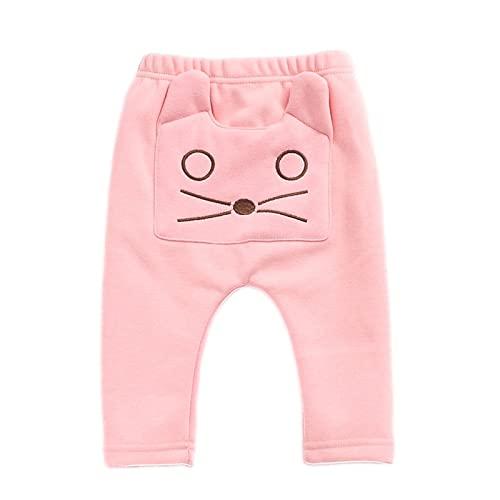 YQSR Pantalón largo para bebé o niña con diseño estampado suave y cómodo para 6 meses a 3 años