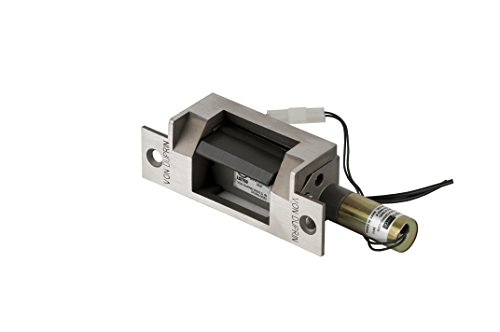 Von Duprin 6211 FSE 24VDC US32D Heavy-Duty Electric Strike for Cylindrical Lock, 24VDC, Stainless Steel Finish