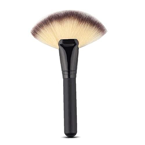 1pc gros grand gros ventilateur plateau de maquillage outils de maquillage de ventilateur tête de ventilateur contour du cache-poudre de poudre blush paupières à paupières à tache à paupières nez