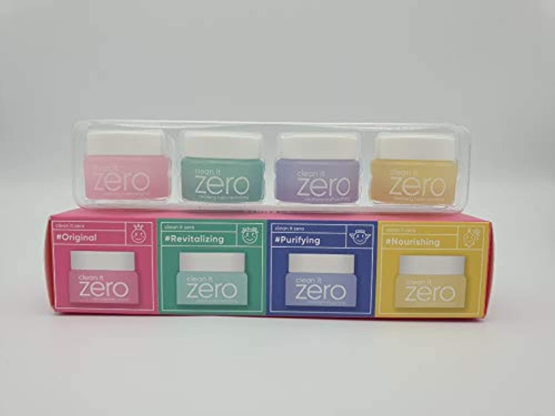 バンジージャンプマークダウン散らすBANILA CO Clean It Zero Special Kit (7ml×4items)/バニラコ クリーン イット ゼロ スペシャル キット (7ml×4種) [並行輸入品]