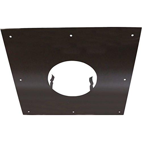 isotip-joncoux 092108, Klinke auf Rückenplatte 400x 400, schwarz, Durchmesser 80