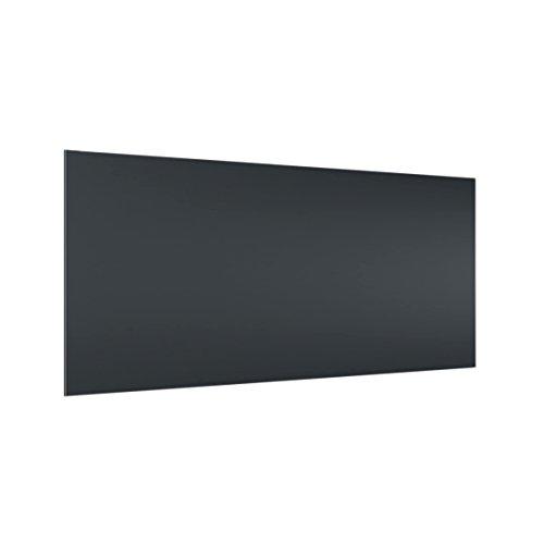 Bilderwelten Panel antisalpicaduras de Cristal - Heather Grey - Horizontal 1:2, Panel antisalpicaduras Panel de Vidrio para Cocina Panel Protector contra Salpicaduras, Tamaño: 40cm x 80cm