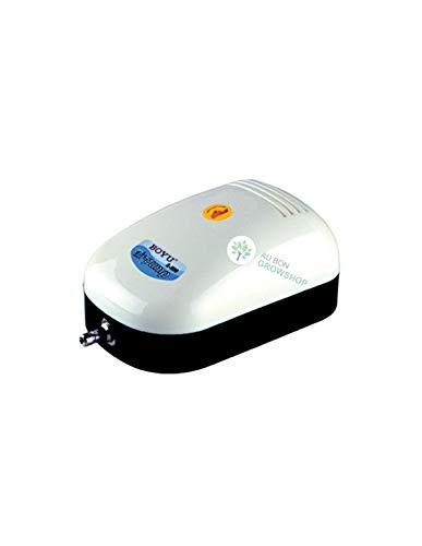 BOYU S - 500 Luftpumpe für Aquarien, Teiche und hydroponische Systeme 240L / hr, Leistung 2.8W
