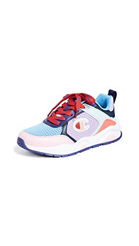 Champion Women s Eighteen SP Block Sneakers, Violet Multi, 7 Medium US