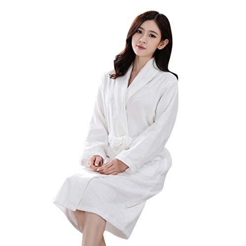 Unisex badjas heren dames grote maten ochtendjas lang katoen nachtkleding zomer herfst winter knuffelig hoogwaardig pyjama pajamas huisjas
