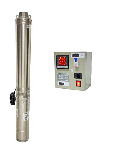 V Guard V-Guard Submersible Pump 1HP 10 Stage with Digital Control Panel