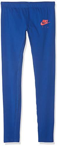 Nike Mädchen G NSW 3/4 TGHT FAVORITES AIR Pants, Indigo Force/Ember Glow, L