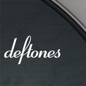 Crawford Graphix Deftones Decal Rock Band Car Truck Window Sticker White