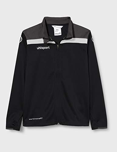 uhlsport Herren Offense 23 Poly Jacke Fussball Trainingsbekleidung, schwarz/Anthra/weiß, 5XL
