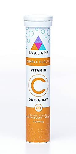 Avacare Effervescent Vitamin C Tablets 1000 mg
