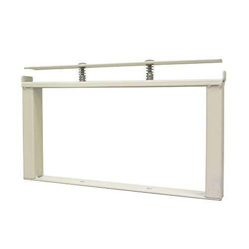 DIY-ID オフホワイト クランプスシェルフ 150基本セット ID-061 ビス打ちなし5分で棚が作れる。1x4材をはさみ込むだけの簡単DIYシェルフ。
