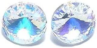 Wholesale blue XILION ELEMENTS Crystal glass Rivoli loose Beads DIY 10mm~18mm