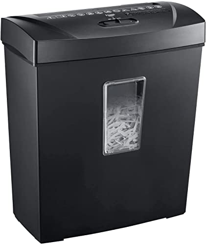 Paper Shredders for Home Use, bonsaii Cross Cut 12 Sheet Shredders for Home Office Use, 5-Minute Continuous Running Time, Shreds Document and Credit Card, ETL Certification (C170-C)
