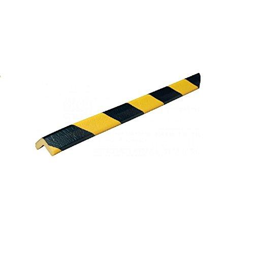 Eckschutzprofil Schutzprofil Kantenschutz Stoßschutz Knuffi Typ E gelb schwarz 1 Meter, Größe:1.00 m