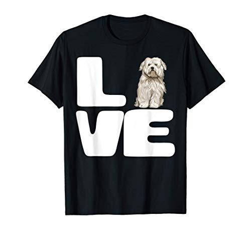 Amo A Mi Perro Cotón De Tulear Camiseta