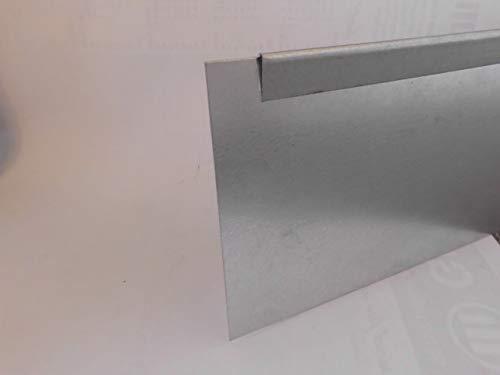 isskohli Rasenkante 5m verzinkt Beeteinfassung Beetumrandung Mähkante Metall Palisade neu