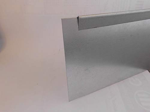 isskohli Rasenkante 5m verzinkt Beeteinfassung Beetumrandung Mähkante Metall Palisade