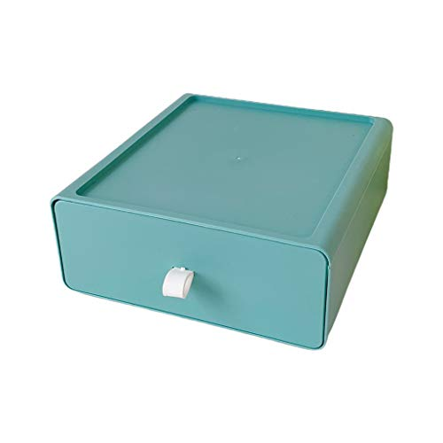 MAGELIYA Organizador de cajones de Escritorio para el hogar Caja de Almacenamiento de cosméticos Contenedor de papelería apilable