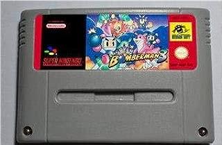 Game card Super Bomberman 3 - Action Game Cartridge EUR Version English ,Game Cartridge 16 Bit SNES , cartridge snes , cartridge super