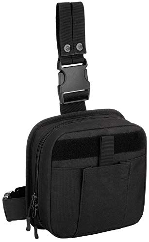 Protector Plus Tactical Drop Leg Bag Military First Aid Kit...