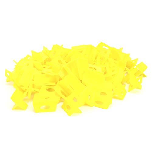 Nivelador de azulejos, pared de piso de herramienta de nivelación de azulejos amarillos para suministro de construcción