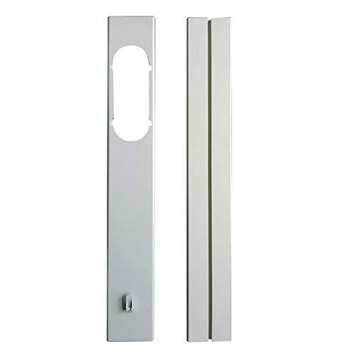 N/T Kit De Placas De Sellado De Ventana Ajustables para Air Acondicionados Portátiles, Conector De Tubo De Manguera De Escape para Aire Acondicionado Portátil, Apertura De 7,5 Cm / 2,95 Pulgadas