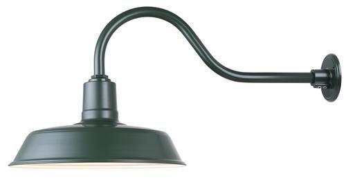 Patriot Lighting 16' Barn Light (Green)