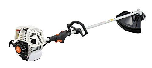 Sunseeker BCF31 2-in-1 Straight Shaft Grass Trimmer and Brush Cutter, 4-Stroke