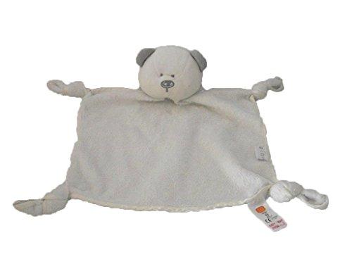 X- otros – Doudou H & M oso Mini plana color blanco y