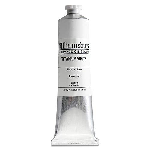Williamsburg Handmade Oil Colors - Titanium White - 150ml Tube