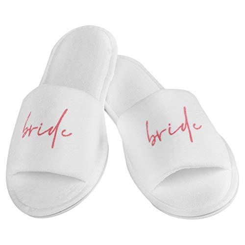 shopandmarry Pantoffeln Braut | Pantoffeln bride Hochzeit | Pantoffeln für die Hochzeit