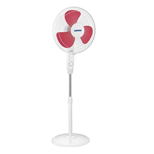 Luminous SpeedPRO 400MM Pedestal Fan with Timer (Red)