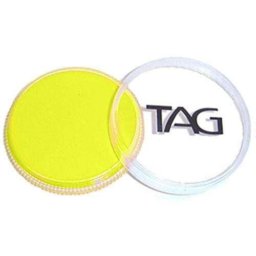 TAG Face and Body Paint - Neon Yellow 32gm