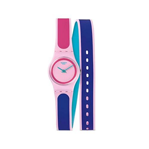 Swatch Reloj Analógico para Unisex de Cuarzo con Correa en Silicona LP140