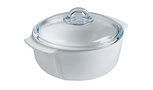 PYREX Pot with Round Ceramic Lid