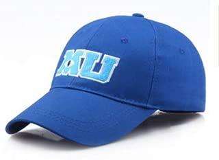 Blue MU Hat Monsters University Movie Pixar Mike