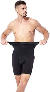 Cocosmart Waist Trainer Corset For Weight Loss Sweat Waist Trainer Body Shaper Man Male Trainers Abdominal Binder Shapewear Slimming Modeling Strap Tummy Shaper Girdle Belt Black X-Large