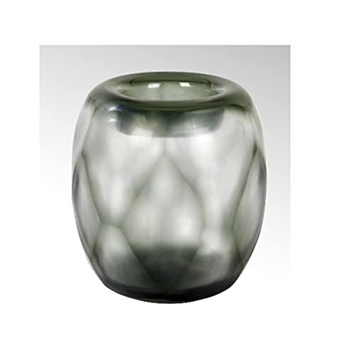 Lambert - Vase, Blumenvase - Bononi - Glas - Farbe: turmalin - (ØxH) 20 x 22,5 cm