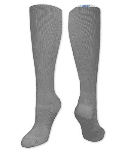 winterwang Calcetines de compresin con estampado de dinosaurios para hombres y mujeres: las mejores medias para correr, viajar, espinilleras, enfermeras, atletas