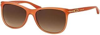 كوتش نظارة شمسية للنساء، عدسة بني، 8117