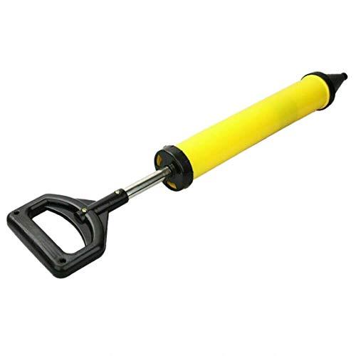 Verfugen Sprayer Cement Caulking Verguss 60 * 13.5cm Pump Cement Gelb Füllwerkzeug Mit 4 Düsen, Für Innen Und Außen