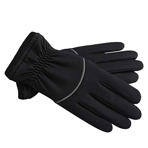 Motorhandschoenen voor heren, warm, antislip, dik, winddicht