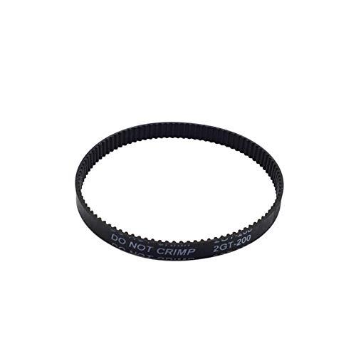 ZHaonan-cinghia di distribuzione Gomma a ciclo chiuso GT2 Cintura di temporizzazione, 200-2GT-6, Lunghezza 110/112 / 200mm / 280mm / 400/610 / 852mm, larghezza 6mm, cintura stampante 3D Parti di ricam
