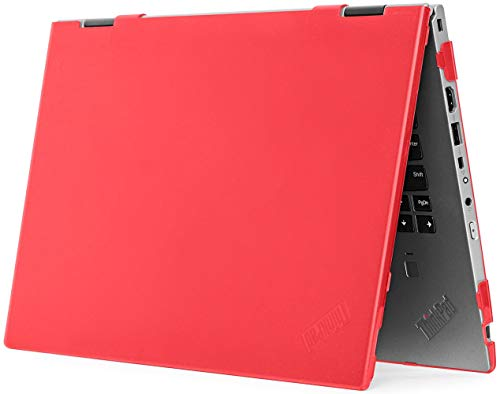mCover Hard Shell Case for 13.3'' Lenovo ThinkPad X13 Yoga Gen 1 Laptop Computer (Not for Any other Laptop) (13.3 Inch ThinkPad X13 1st Generation, Red)