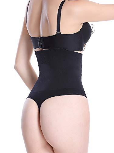 Leapair Tummy Dimagrante a Vita Alta Perizoma a Vita Alta per Controllo Ultra Fermo Donna